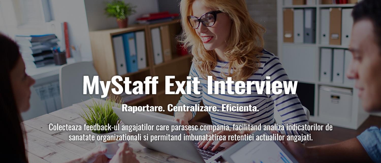 MyStaff Exit Interview